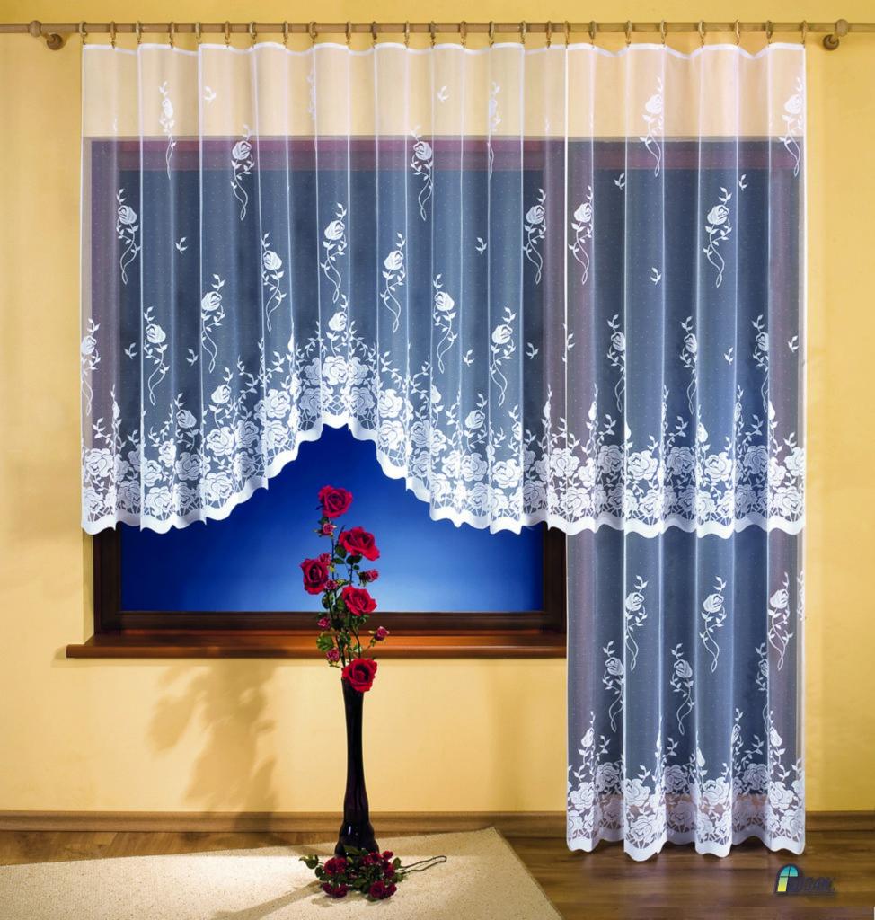 Komplet Firanek Do Okna I Drzwi Balkonowych 3249