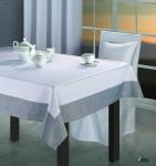 Tkanina dekoracyjna ze srebrną przędzą 3908D1 3909D1