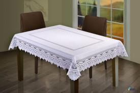 Obrus żakardowy TOM biały prostokąt 130 x 180 WISAN