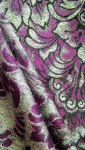 Tkanina Dekoracyjna Zasłonowa - Nowość - kolor bordowy