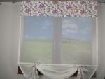 Wiosenna Dekoracja Okna - Kwiatowy Panel