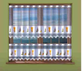 Zazdrostka Oliwa Dzbanek 624 d 704 wys. 45   70   120 żakardowa kolorowa