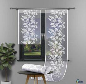 Panel żakardowy ekran biały 653d139 szerokość 60 cm