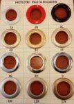 Nabijanie przelotek różne kolory